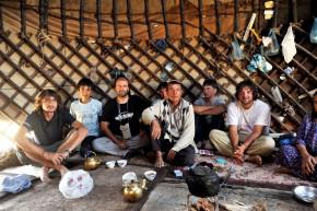 La ceai, cu ciobanul turkmen