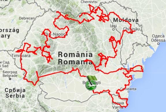 Turul României cu bița