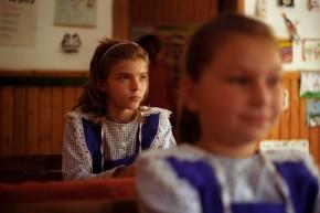 La școala din Cruhla, Suceava.